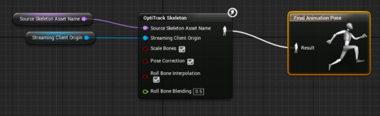 Unreal Engine Skeleton Streaming - NaturalPoint Product